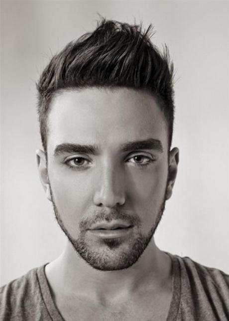 Corte de pelo para rostro triangular hombre