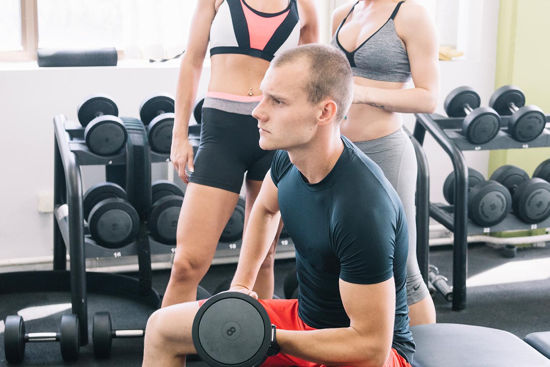 ligar chicas en el gym