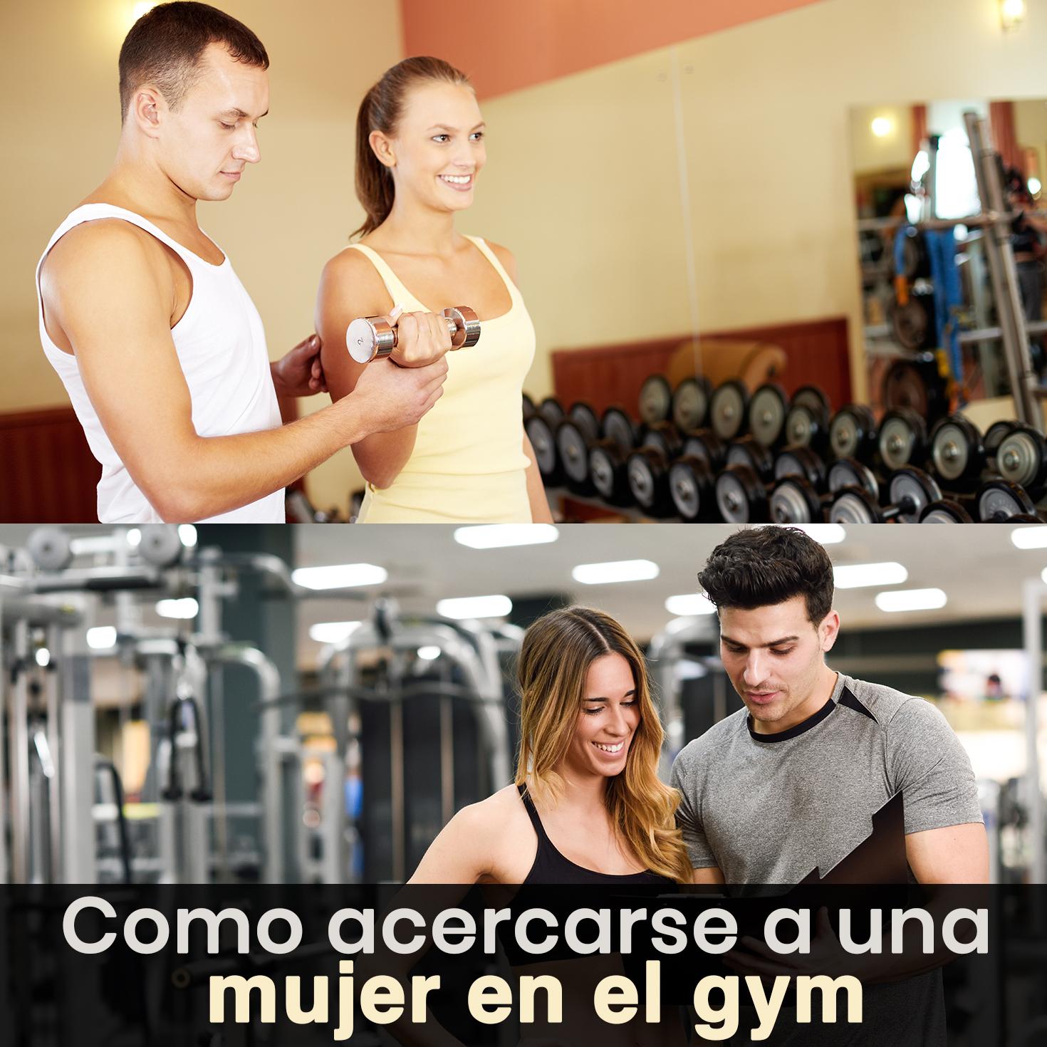 Como ligar a un hombre en el gym