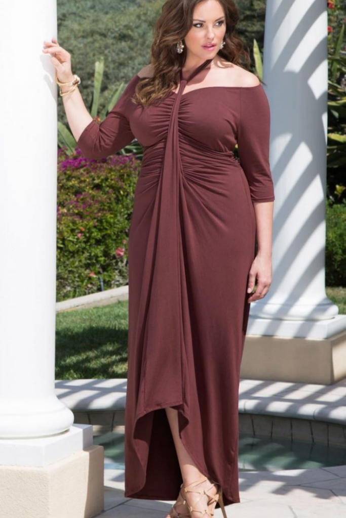 e7ab8f40f Este estilo de vestido es una opción si quieres llevar algo más ajustado al  cuerpo pero sin que deforme tu figura