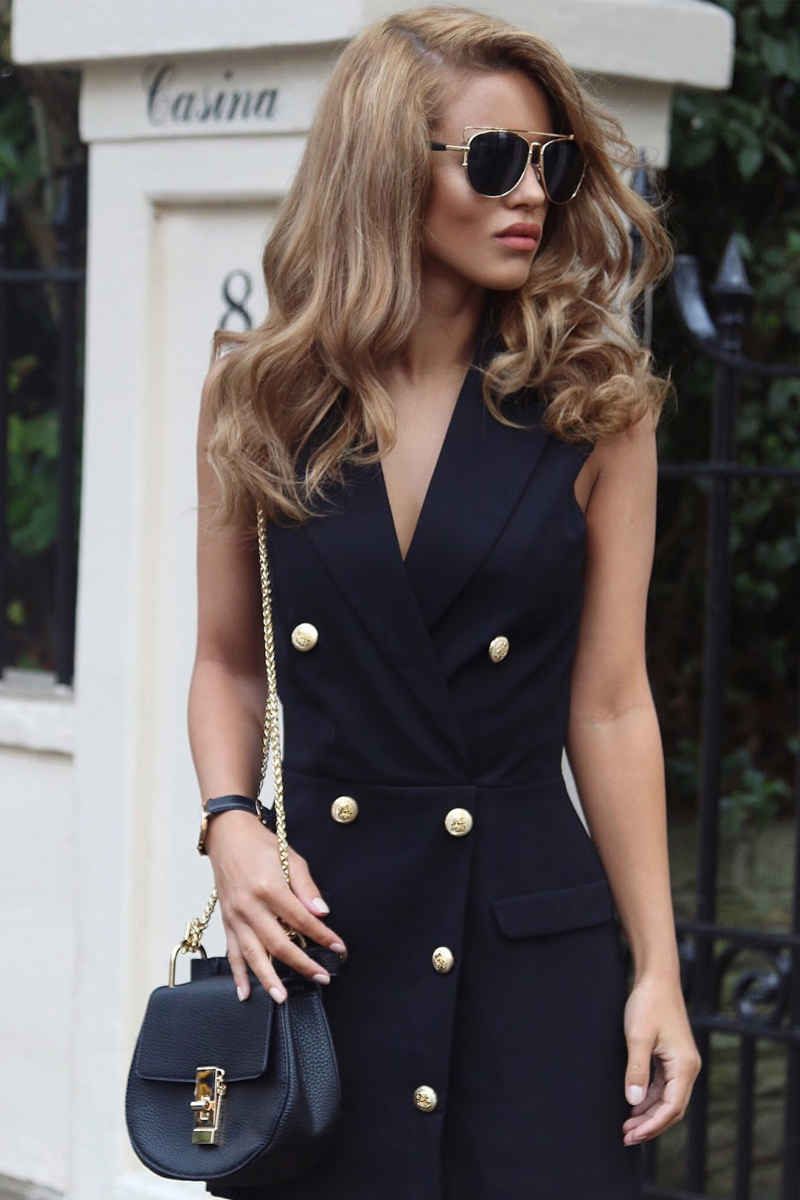 6e1f0fa411 35 ideas para lucir súper trendy usando vestidos blazer! - Métodos ...