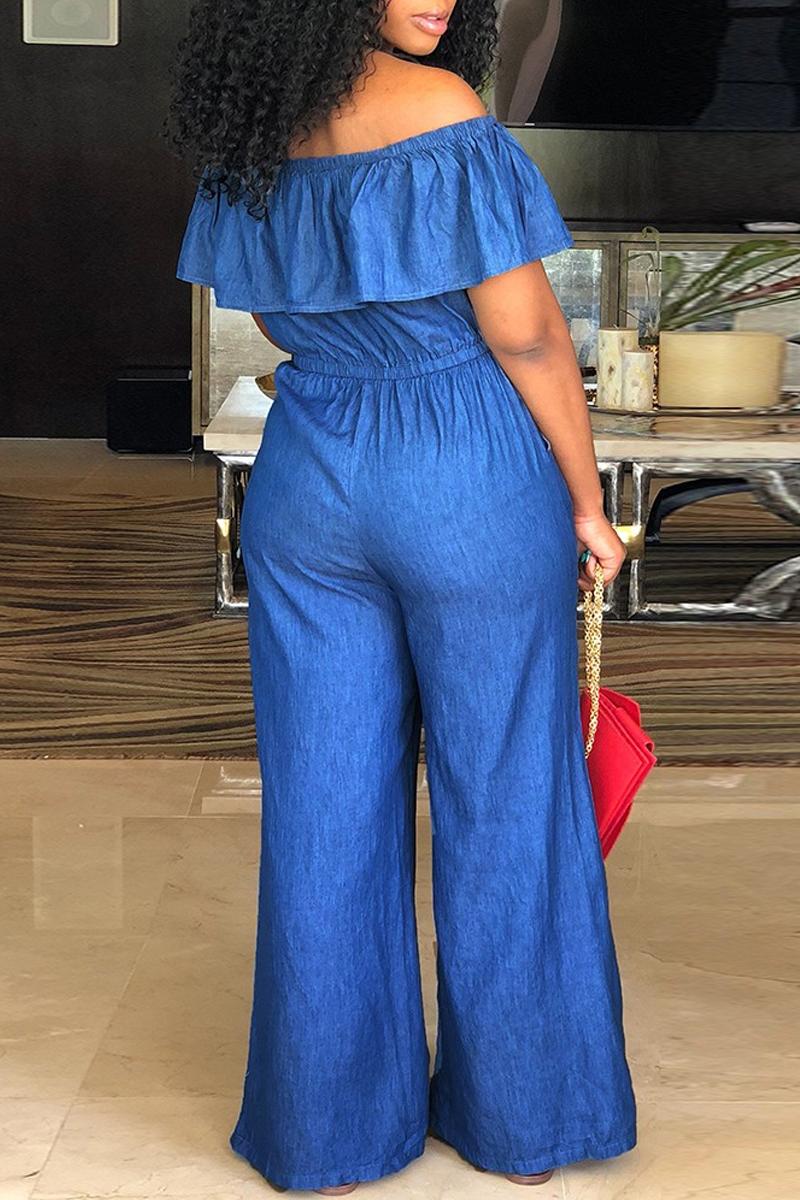 f26a1da8e El jumpsuit es una opción de vestido largo cómoda y sofisticada que luce  muy bien en denim