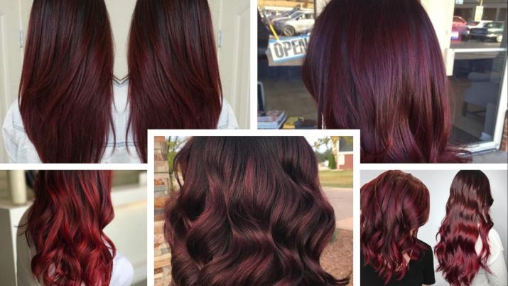 qué color de cabello me queda si soy blanca el borgoña o burgundy o vino tinto te quedarán bien