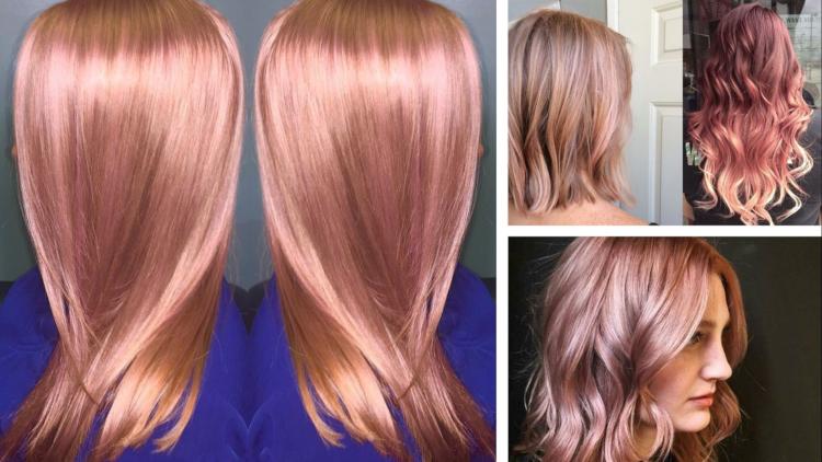 qué color de cabello me queda si soy blanca rose gold rosa dorada oro rosado