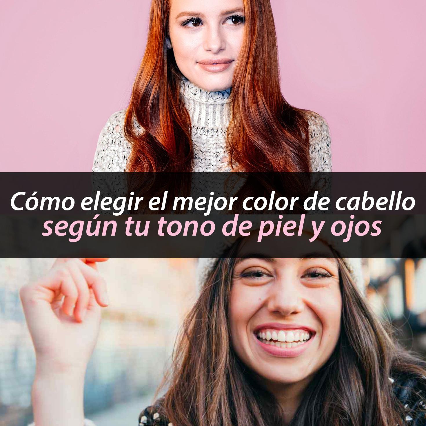 Test color de cabello segun tu personalidad
