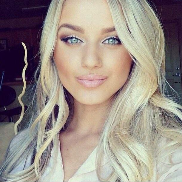 qué color de cabello me queda si soy blanca ojos azules