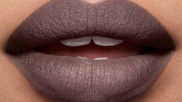 labiales para morenas gris topo mate gry taupe lipstick labial