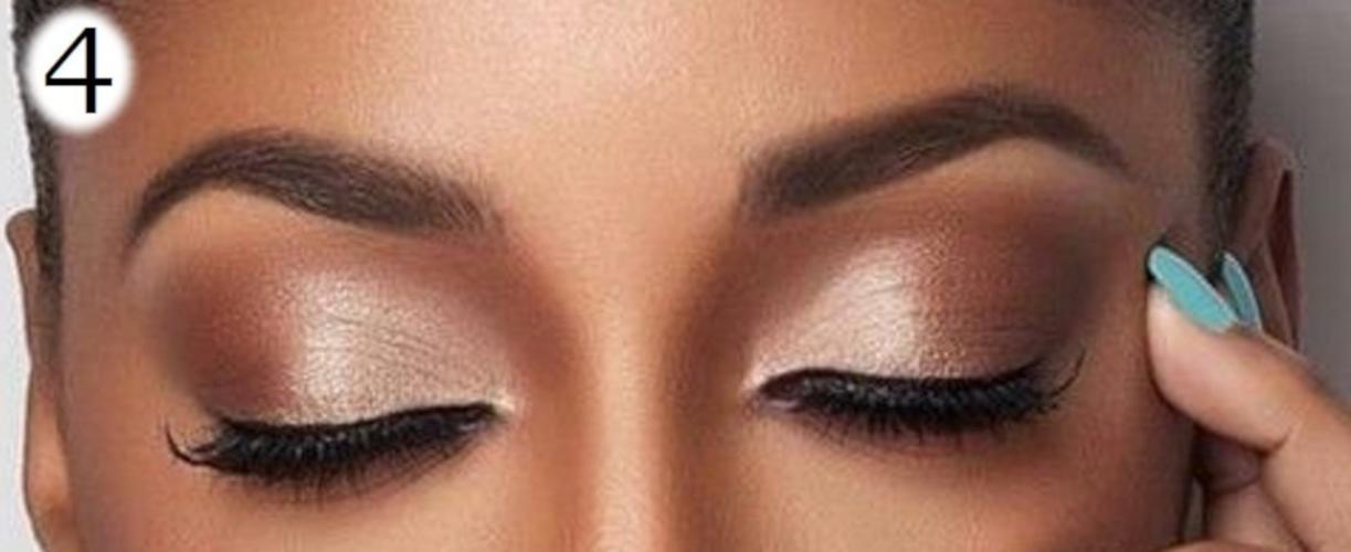 sombras de ojos para morenas tonos metálicos