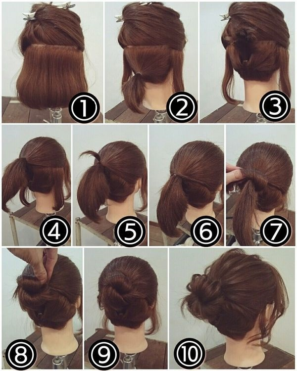Peinados para pelo corto al hombro