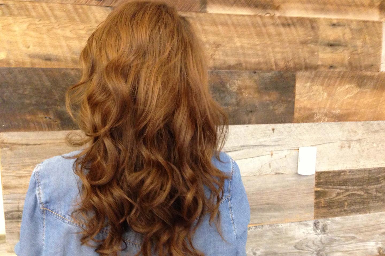 Corte de cabello rebajado largo