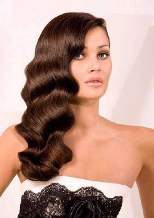 peinados fáciles y bonitos peinado retro atemporal ondas retro de los años 20's 20 veintes a principios de siglo hairstyle