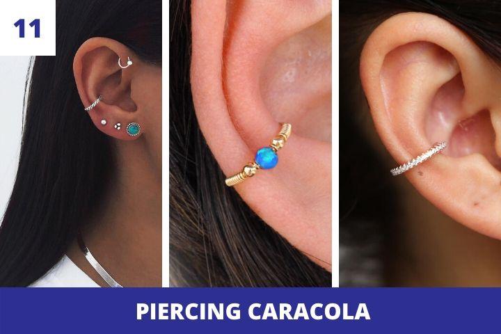 piercing-caracola
