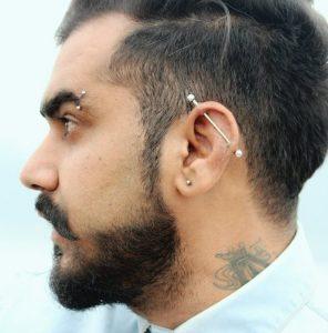 idea 1 piercing en la oreja