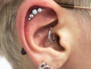 idea 11 piercing en la oreja
