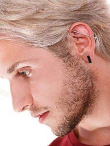 idea 7 piercing en la oreja