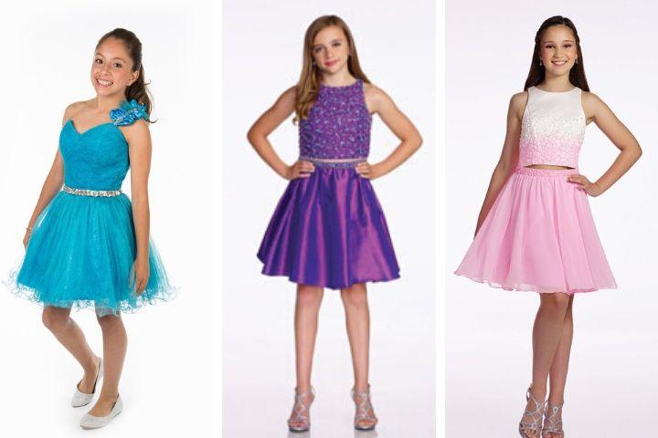 vestidos de graduacion niña de sexto