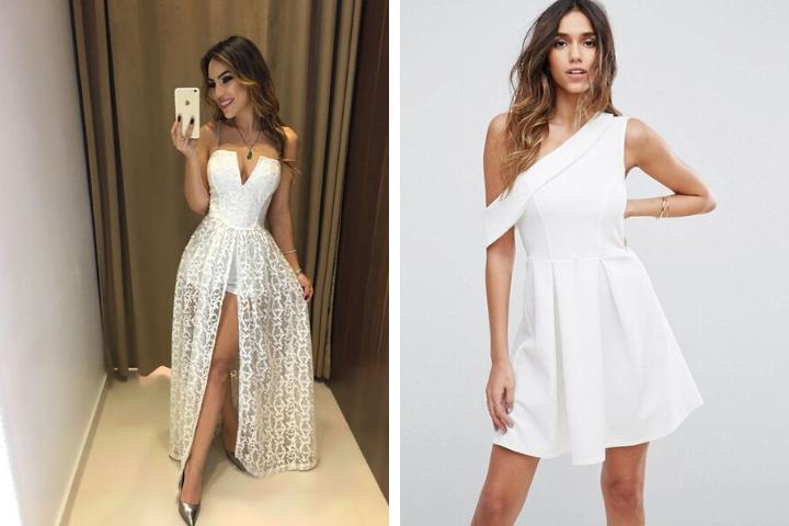 vestidos de grdauacion blancos